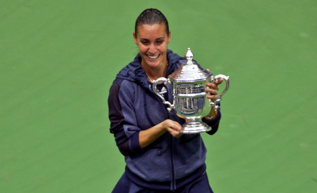 Pennetta wins 2015 US Open title, announces her retirement