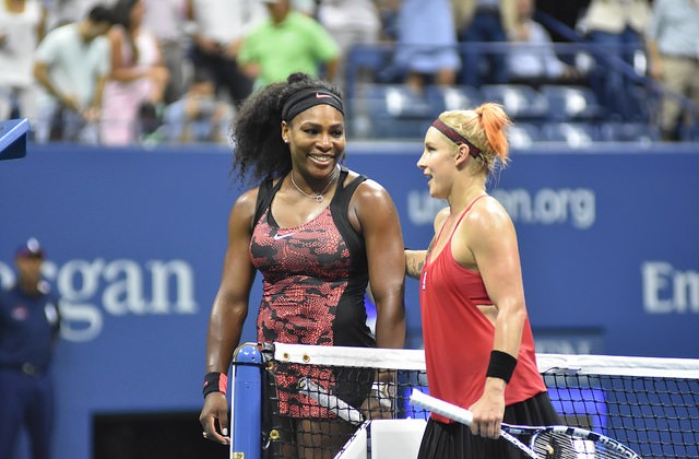 Serena Williams and Bethanie Mattek Sands