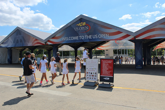 Around the grounds at the 2015 US Open