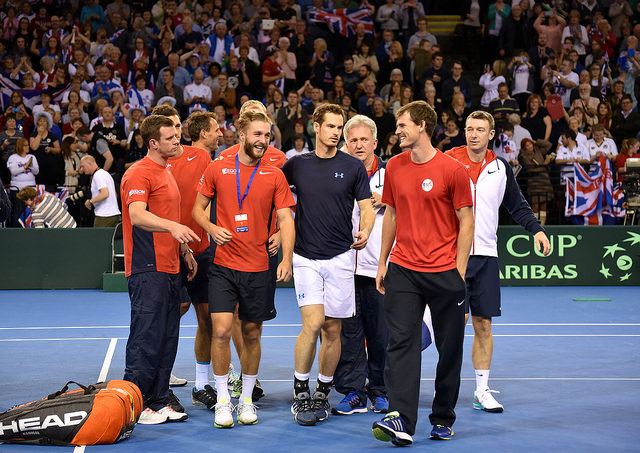 Davis Cup 2015 R1: Murray defeats Isner, seals GB victory