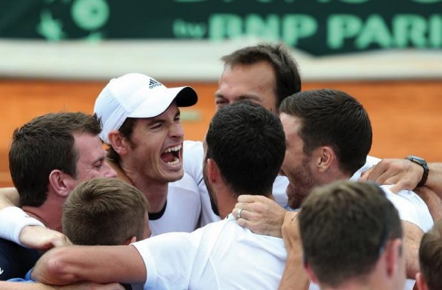 2013 British Davis Cup team