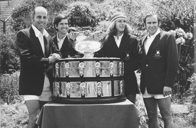 South Africa win the 1974 Davis Cup