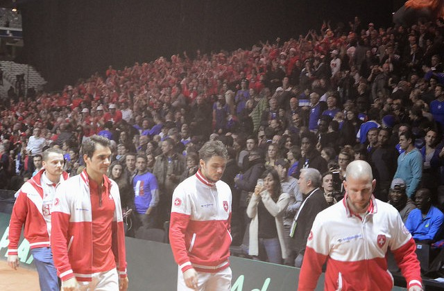 2014 Davis Cup final: Swizerland defeats France