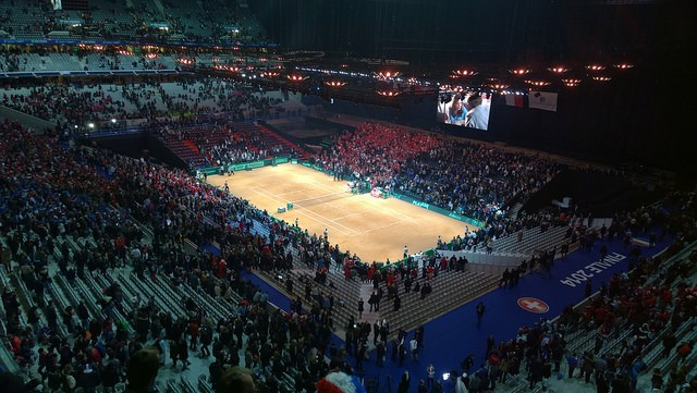 2014 Davis Cup final in Lille