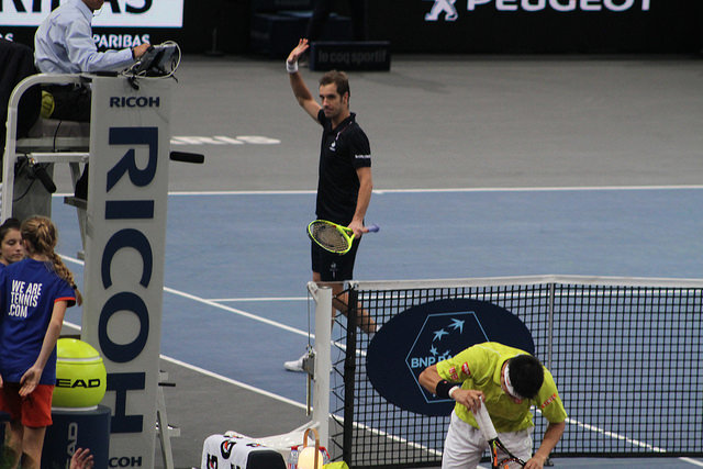 Bercy 2015 day 4: Gasquet defeats Nishikori