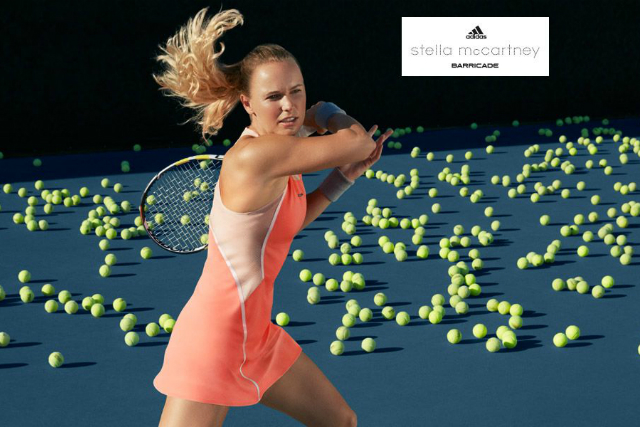 Australian Open 2016: Caro Wozniacki's Stella McCartney dress