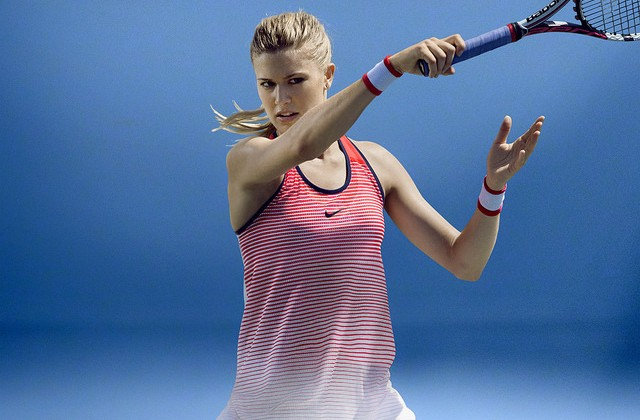 Eugenie Bouchard Australian Open outfit