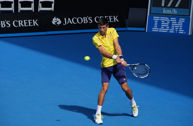 Novak Djokovic Australian Open 2016 day 1