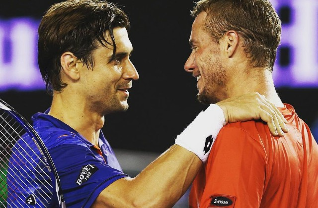 Lleyton Hewitt and David Ferrer, Australian Open 2016