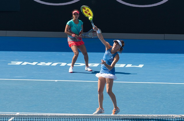Martina Hingis and Sania Mirza, Australian Open 2016