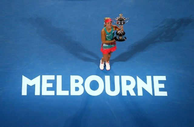 2016 Australian Open champion Angelique Kerber
