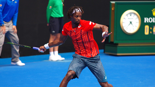 Australian Open day 6: Gael Monfils defeats Stephane Robert