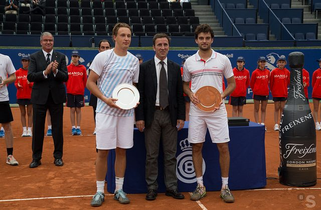 Marin Draganja and Henri Kontinen, Barcelona Open 2015