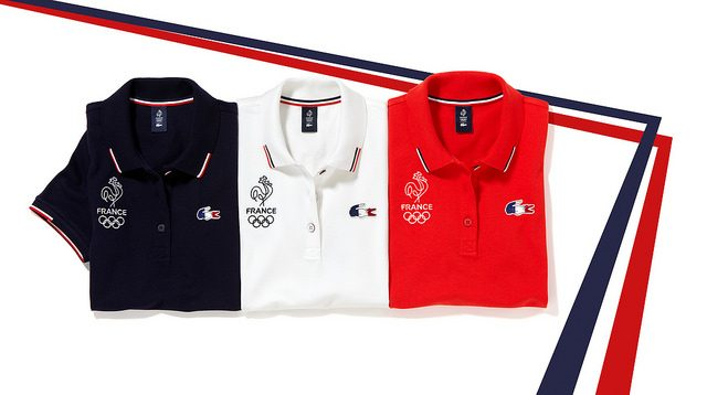French Olympic team outfit for Rio 2016