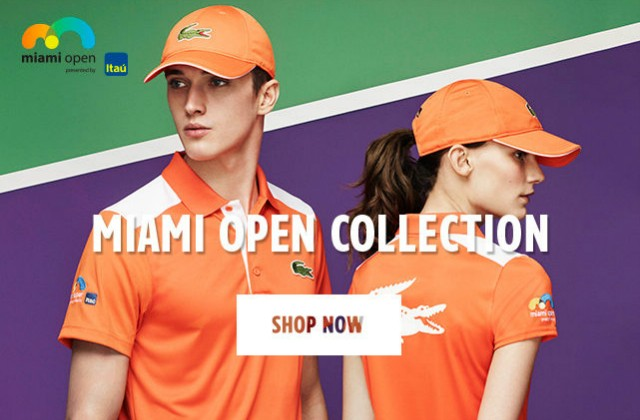 Lacoste Miami Open 2016 collection