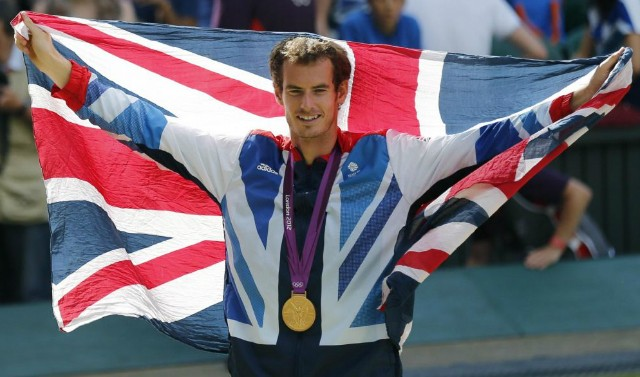 Olympic gold medallist Andy Murray