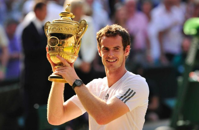 Wimbledon champion Andy Murray