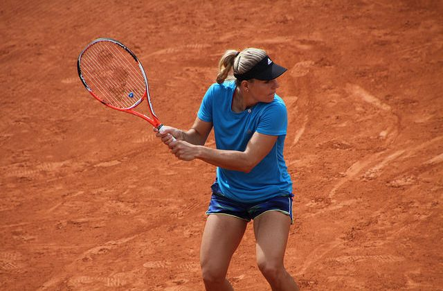 Angelique Kerber at pactice, Roland Garros 2016