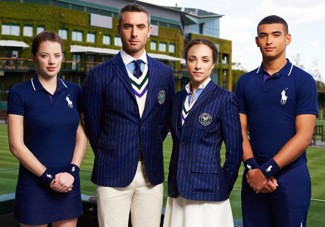 Ralph Lauren unveils new Wimbledon uniforms