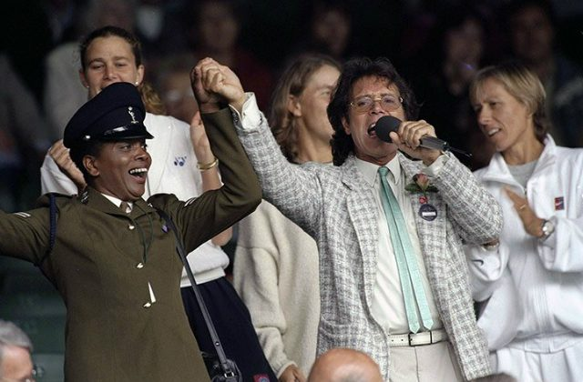 Cliff Richard, Wimbledon 1996