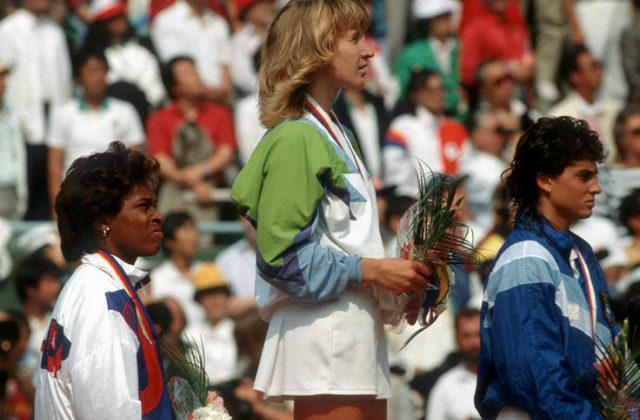 Tennis Olympic medalists, Seoul 1988