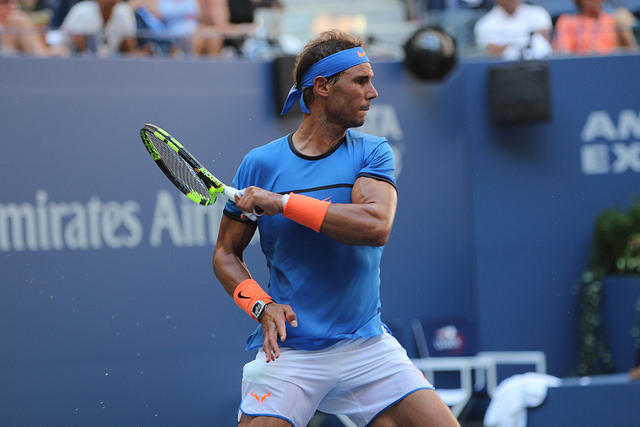 2016 US Open 1st round: Nadal defeats Istomin