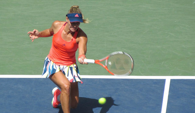 2016 US Open QF: Angelique Kerber defeats Roberta Vinci