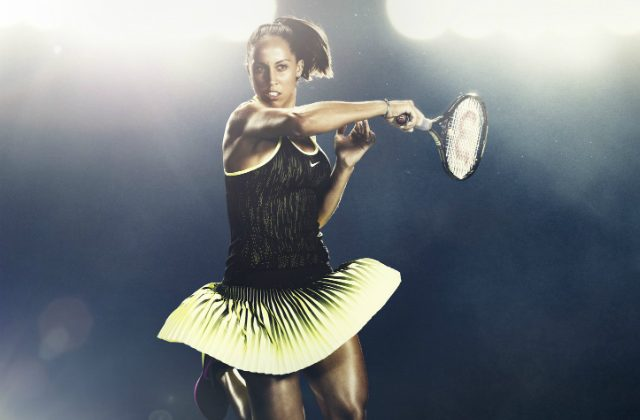 Madison Keys 2016 US Open outfit