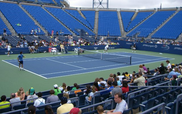Louis Armstrong Stadium, US Open 2006