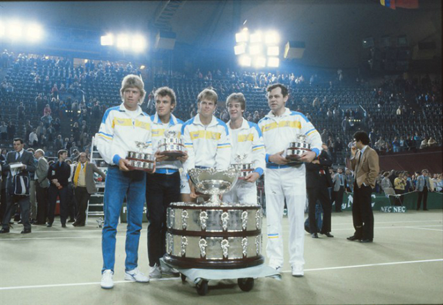 Davis Cup 1985: Sweden defeat West Germany