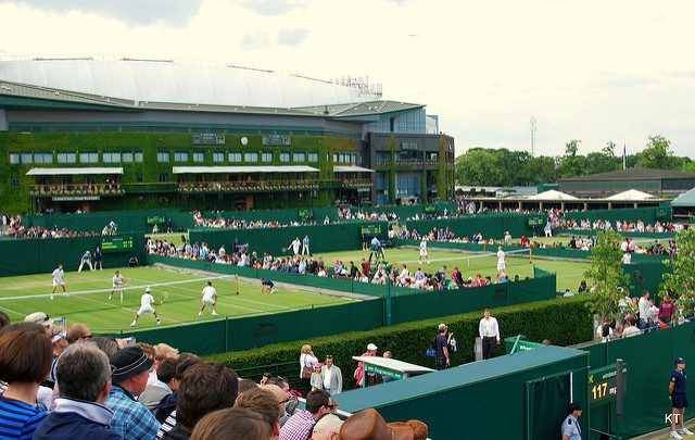 Wimbledon view from court 12