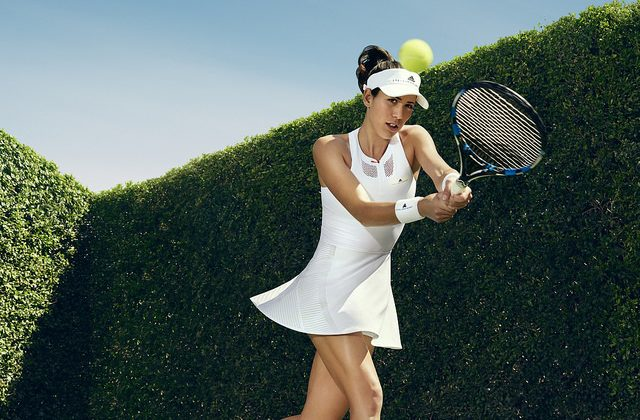 Garbine Muguruza Wimbledon 2017 dress