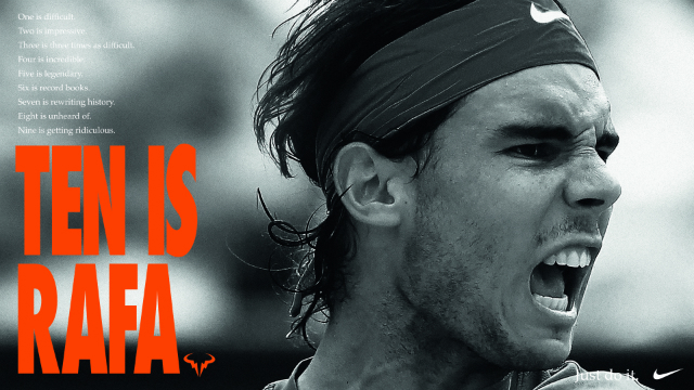 Roland Garros 2017: Ten is Rafa