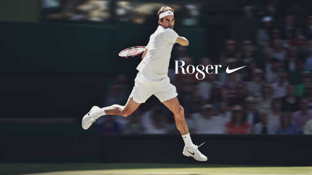 Nike celebrates Federer's 8th Wimbledon title
