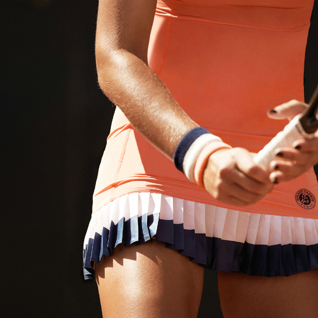 Kristina Mladenovic Roland Garros dress