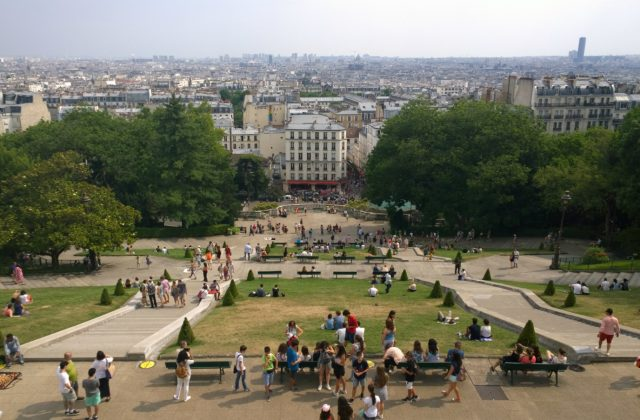 View from Montmartre, Paris