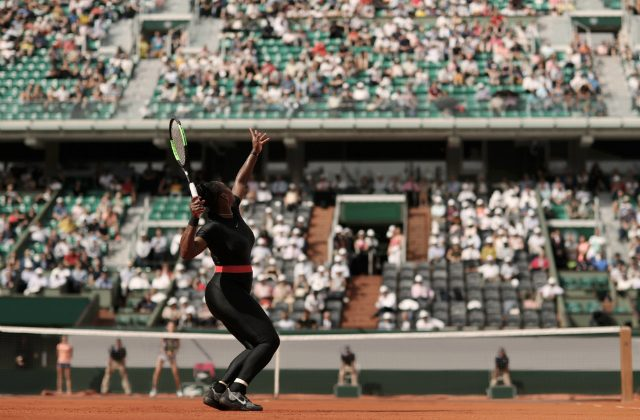 Serena Williams Roland Garros catsuit