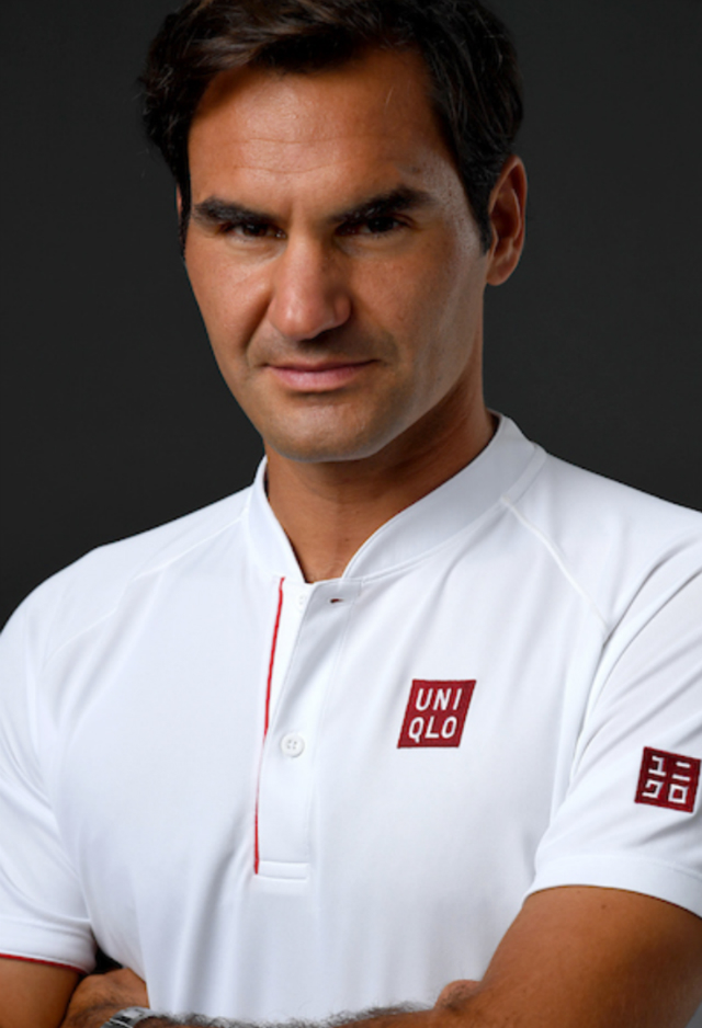 Roger Federer leves Nike for Uniqlo