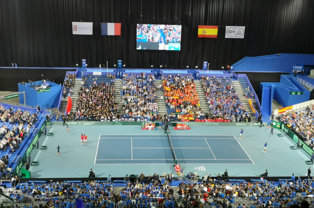 My Davis Cup weekend: France vs Spain