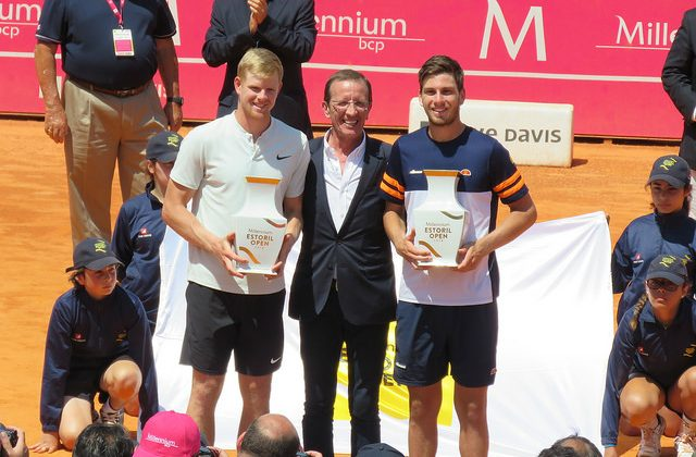 Edmund and Corrie win maiden doubles title in Estoril