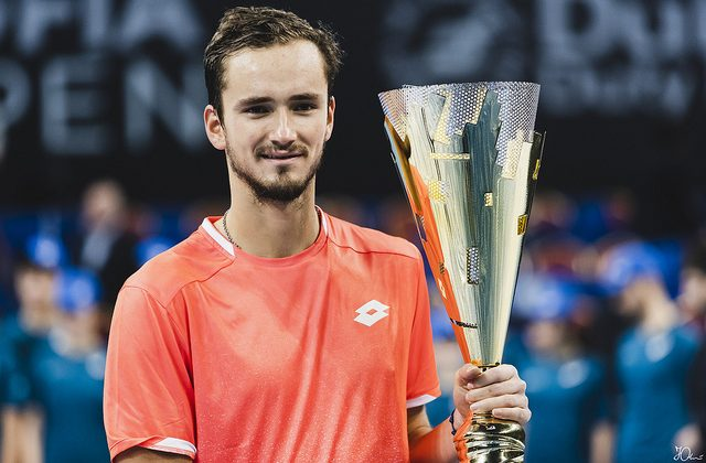 Daniil Medvedev, winner of the Sofia Open 2019