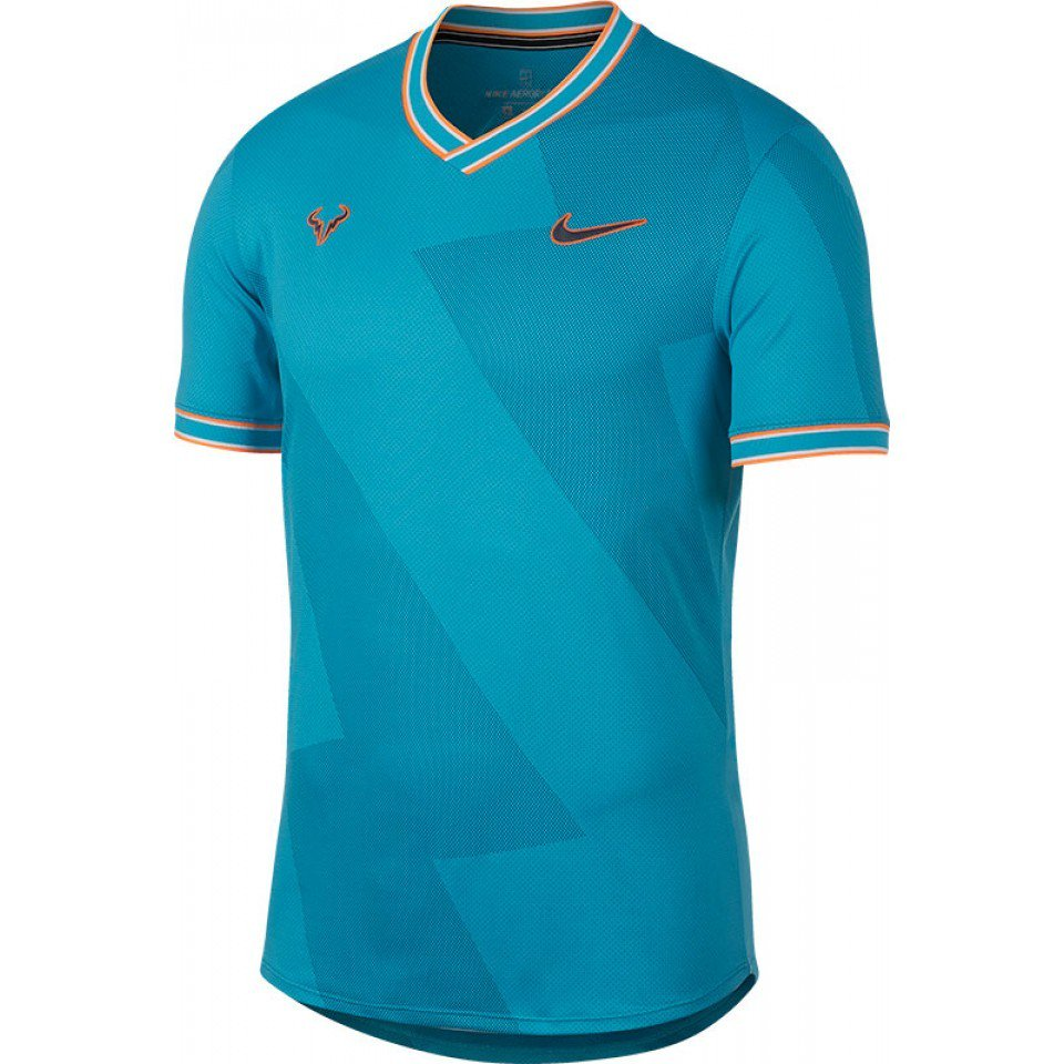 Rafael Nadal's outfit for the 2019 clay court season