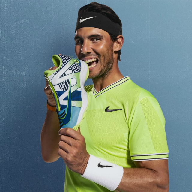 Nadal Roland Garros 2019 shoes