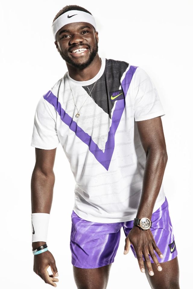 Frances Tiafoe unveils Nike 2019 US Open collection