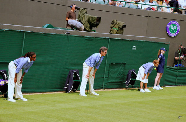 Wimbledon judges line