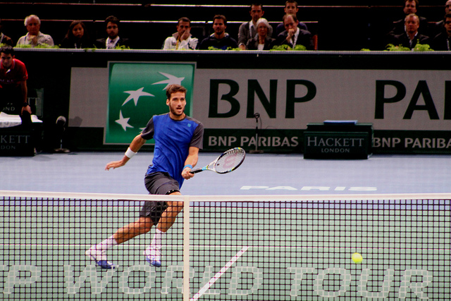 Bercy 2013 day 1: Lopez vs Tomic
