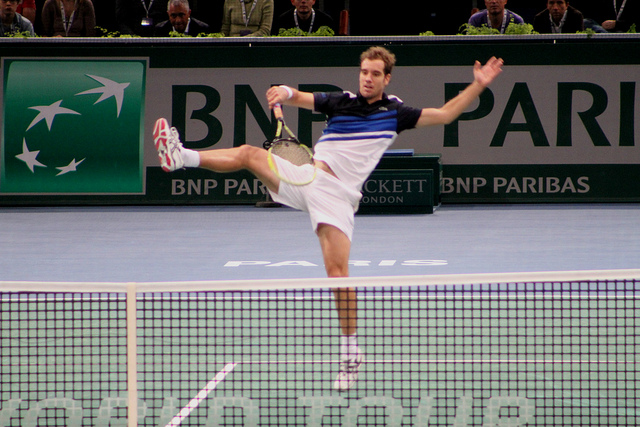 Bercy 2013 day 2: Gasquet vs Verdasco