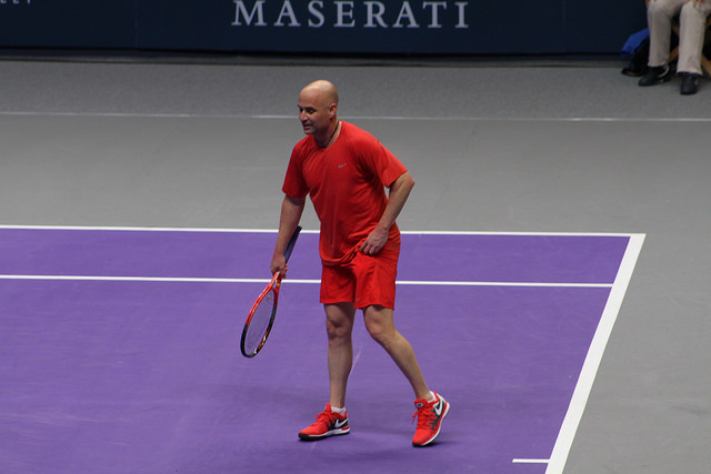 World Tennis Day London Showdown: Agassi vs Sampras