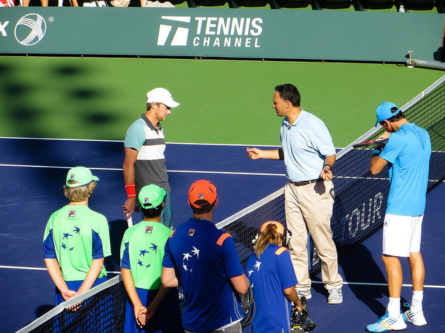 Around the grounds at Indian Wells - Day 2