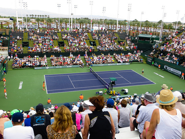 Around the grounds at Indian Wells - Day 3